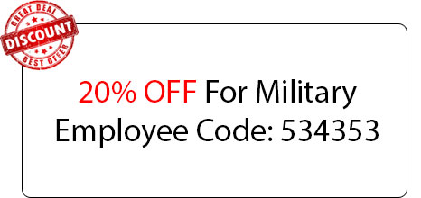 Military Employee Discount - Locksmith at Glendora, CA - Glendora Locksmith